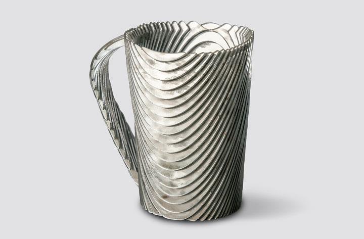 Laser-Cut Acrylic Leach Tableware Large Tall Mug
