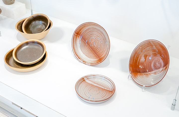 Echo of Leach Exhibition: Interpretations of Echo of Leach Plates & Bowls by Matthew Tyas
