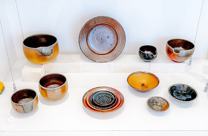 Echo of Leach Exhibition: Examples of Leach Tableware