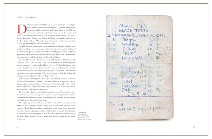 Emmanuel Cooper Excerpts - pp6 & 27