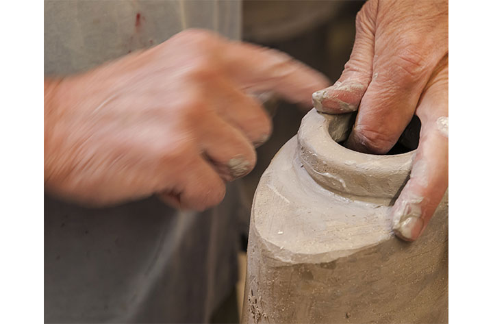 John Bedding Making the Foot for a Vessel