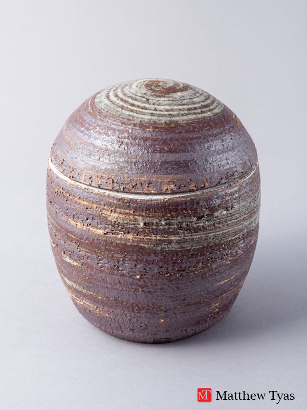 Matthew Tyas: Lidded Jar